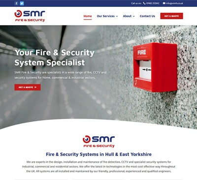 Web Design for SMR Hull