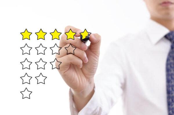 businessman rating