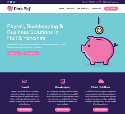 Pink Pig Website