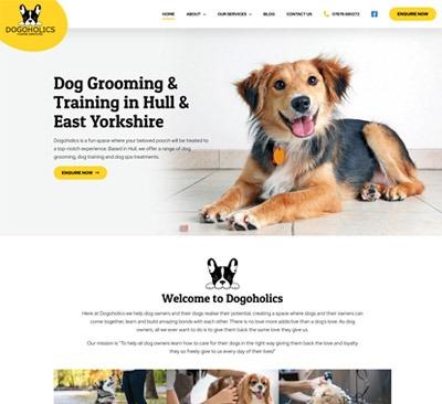 Web Design for Dogoholics Hull