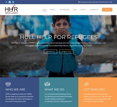 Web Design for Hull Help For Refugees