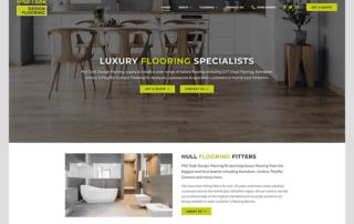 Web Design for Phil Took Design Flooring Hull