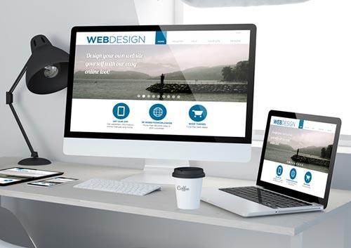 Website on PC & Laptop