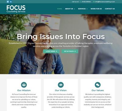 Focus Counselling Website Design