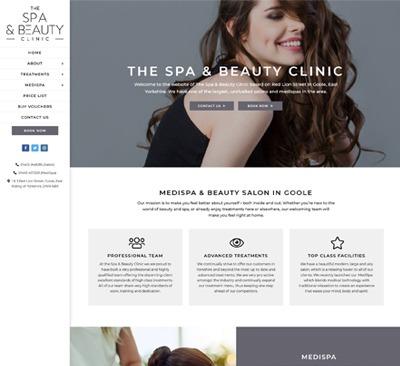 Spa & Beauty Website Design